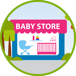 Use pfiLOANS for Baby Supplies and Strollers